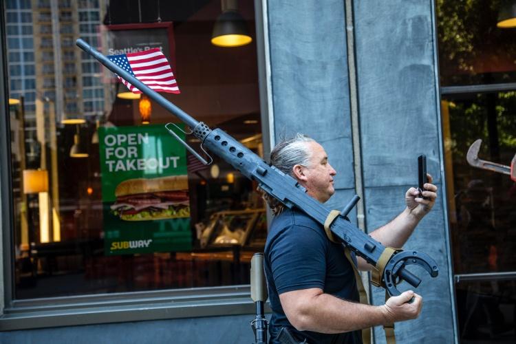 gun protest