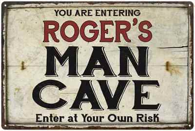 ROGERS-Man-Cave-Sign-Rustic-Garage-Decor-Gift