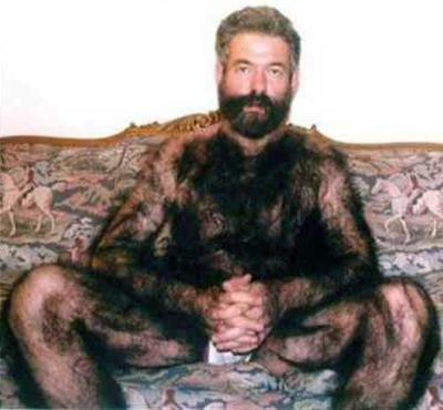 Iranian Hairy Man